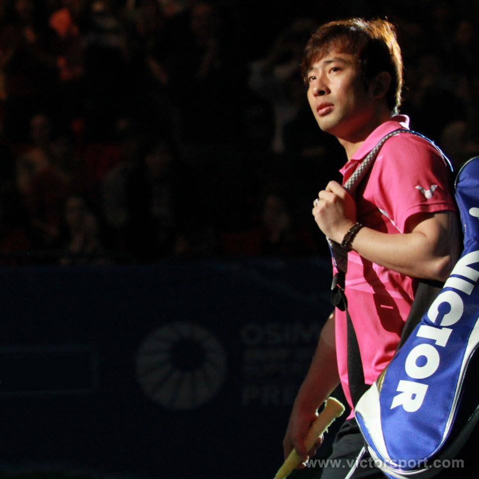Jung Jae Sung in ALL ENGLAND OPEN 2012