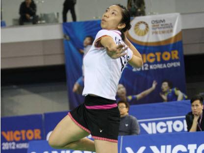 2011 SINGAPORE SUPER SERIES RUNNER-UP : Cheng Wen Hsing