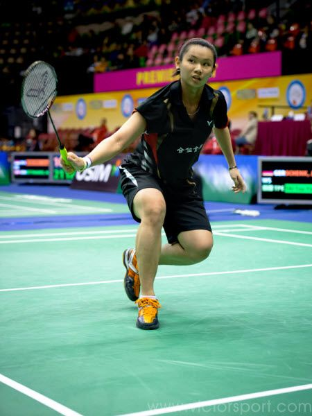 Tai Tzu Ying in 2012 Hong Kung super series open with VICTOR SH-A850